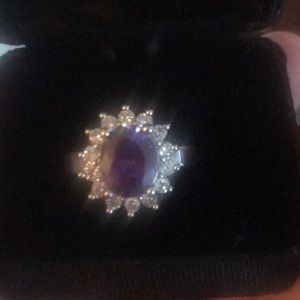Jewelry - Beautiful Amethyst Cocktail Ring