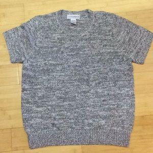 Super soft short sleeve sweater, NWOT