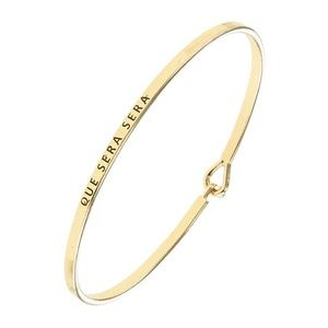 Spanish It Is What It Is Gold Bracelet