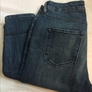 NWOT JCrew 3x1 skinny jeans mid rise blue size 25