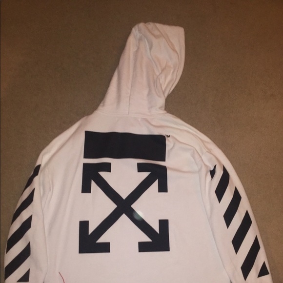 a3753242fb2f Authentic Off White 2013 Chirico Hoodie
