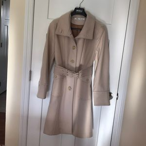 Wool camel colored Kenneth Cole coat
