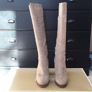 Micheal Kors Regina Platform Boots