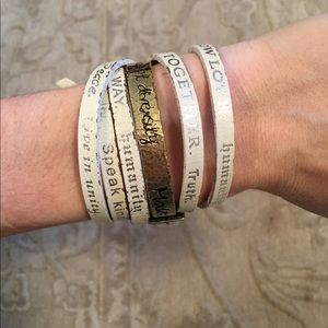 Humanity For All wrap bracelet