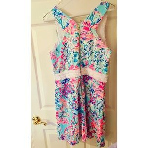 7d1fd4e49f8bb4 Lilly Pulitzer Dresses - NWT Arden Shift Dress in Serene Blue Gypsea Size M