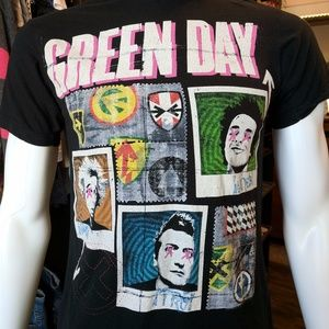 Green Day 99 Revolutions Concert Tour T Shirt M