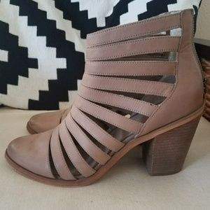 Hinge Strapped Ankle Booties