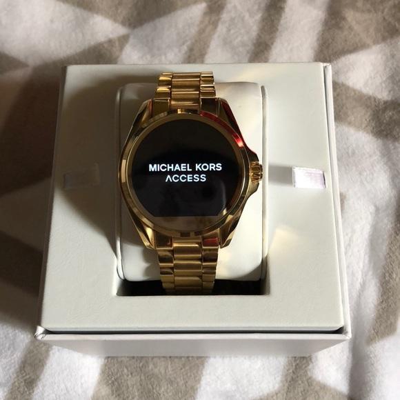 88f00e3baf2b Michael Kors Bradshaw smart watch PRICE FIRM. M 5a1b0054f0137d021006caad