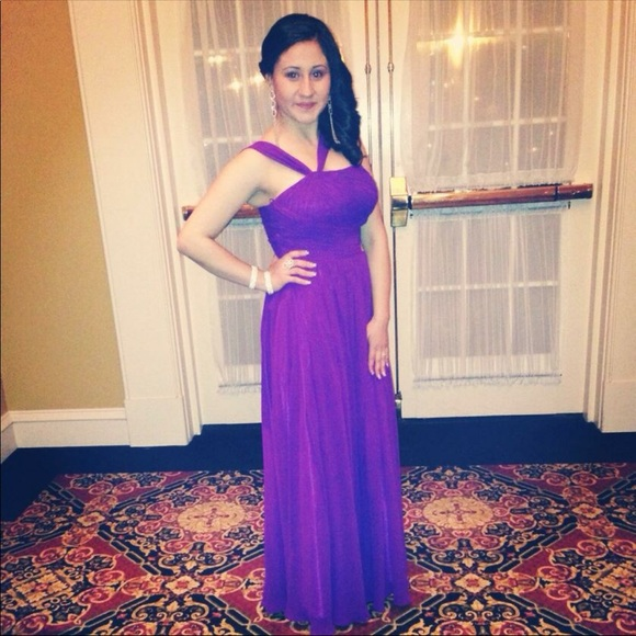 Simple Purple Dresses