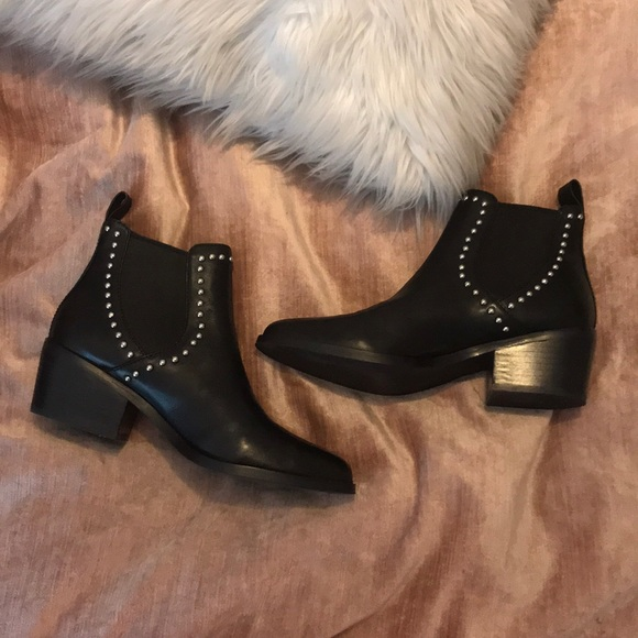 2acffdf474f Steve Madden Maxeen Studded Ankle Boot 7. M 5a1b00d79c6fcf2a7d06e5c2. Other  Shoes ...