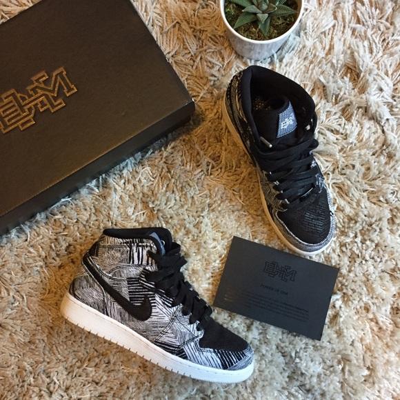 sports shoes 0a3f4 be960 Air Jordan Shoes - Black History Month Jordan 1