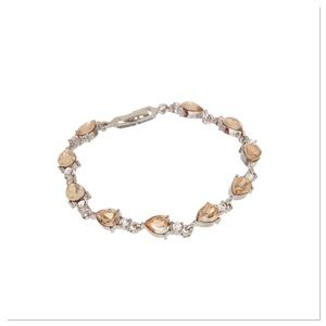 Champagne Tennis Bracelet