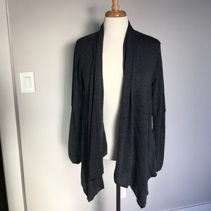 Willow and Clay gray cardigan