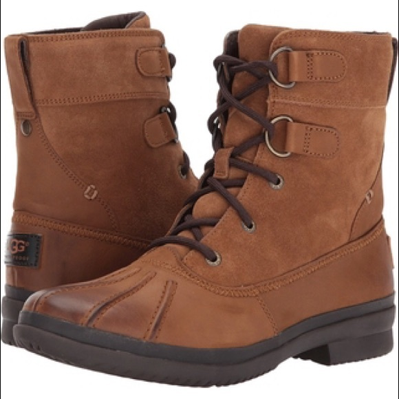 fe42b14fd4d UGG Shoes   Azaria Duck Boot   Poshmark