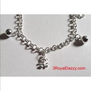 Jewelry - Baby Teddy Bears 925 Charms Girls Bracelet