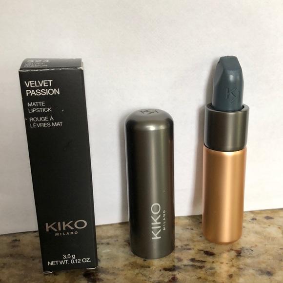 Kiko Metal Lipstick 09 Strawberry Pink