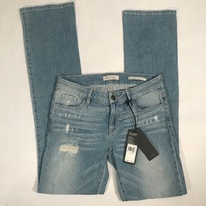 Guess Valencia NWT Slim Mid Rise Boot Denim Jeans