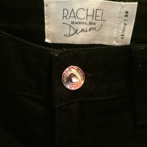 Black Rachel Roy skinny jeans