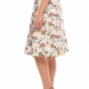 Modcloth Skirts - NWT Coastal Print Skirt
