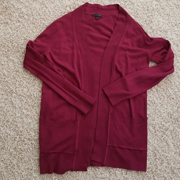 59% off staccato Sweaters - Maroon boyfriend cardigan from ...