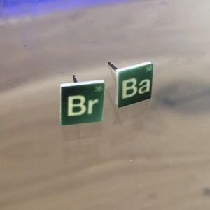 BREAKING BAD chemistry stud earrings