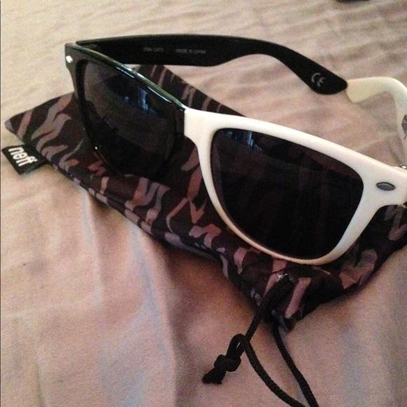 f053a22ed0b7a Neff Black and White Split Sunglasses. M 5a1b10559818296333072a19. Other  Accessories ...