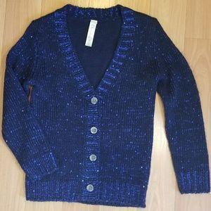 Girls CHEROKEE Sparkle Cardigan