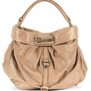 Marc by Marc Jacobs Bags - Marc by Marc Jacobs Tan Leather Hobo Shoulder Bag