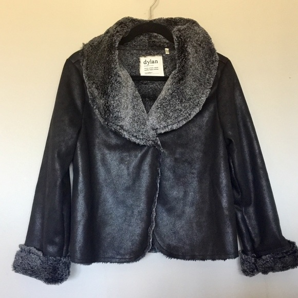 5722ec5bb ⬇️$65 Dylan by True Grit Faux Fur jacket