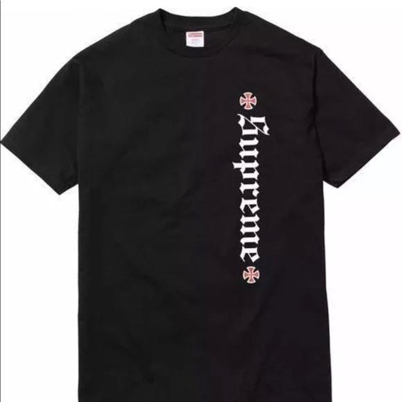 df61e14624cc Supreme Shirts | X Independent Old English Tshirt | Poshmark