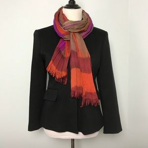 Accessories - Purple, brown & orange scarf