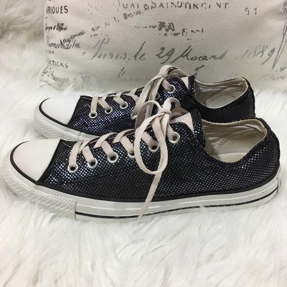 2c8283d5f99f Converse Shoes - Converse All Star Chucks Iridescent Shoes Size 10