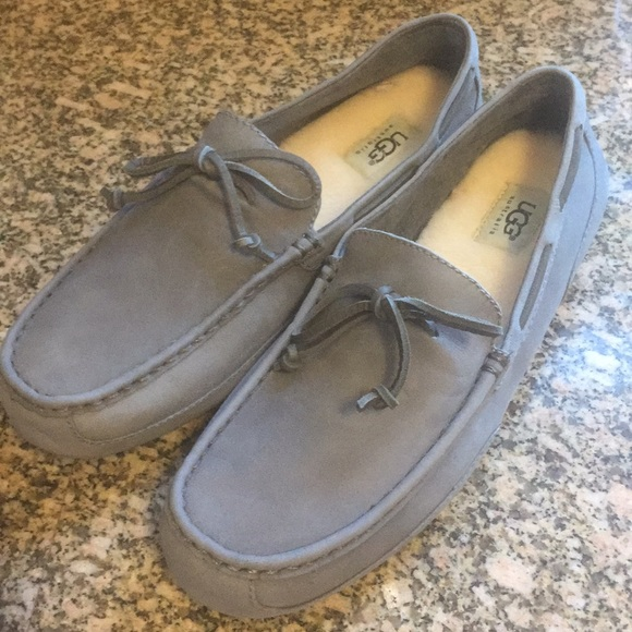 dcc36b04a54 UGG Chester Grey Loafer Moccasin New with Tags Boutique