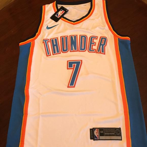 official photos 8d3d1 888f6 Oklahoma City Thunder #7 Carmelo Anthony Jersey NWT
