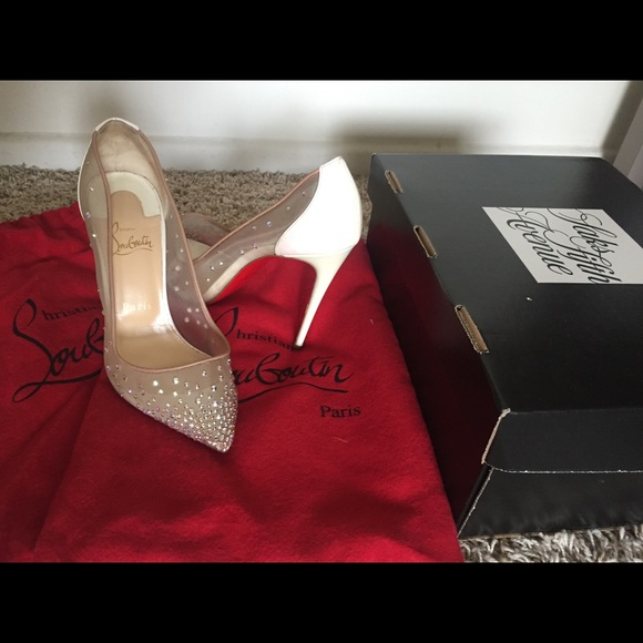 469dfe6700da Christian Louboutin Shoes - Christian Louboutin Follies Strass Pumps