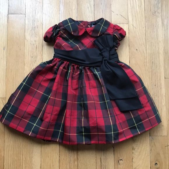 64b411ebf Ralph Lauren Baby Girls Christmas Dress 6M. M_5a1b1f76bf6df53c81078c94