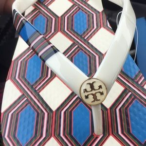 Brand New in Box Tory Burch Flip Flops