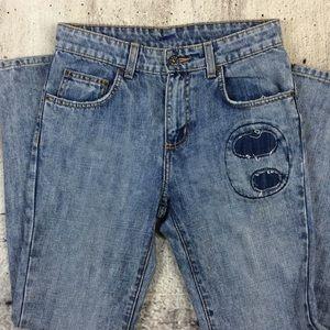 CARMAR LF boyfriend patch jeans