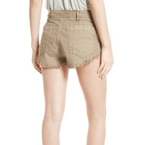 Free People Women's Raw And Patched Standoff Short