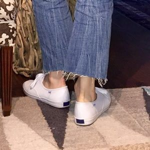 3408f0a83a635 Keds Shoes - Vintage LEATHER Keds Champion Originals white 9