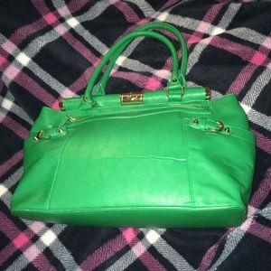 Green JustFab shoulder bag