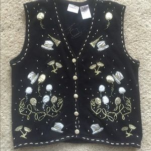 (Not Ugly) New Years vest. Check them all out!
