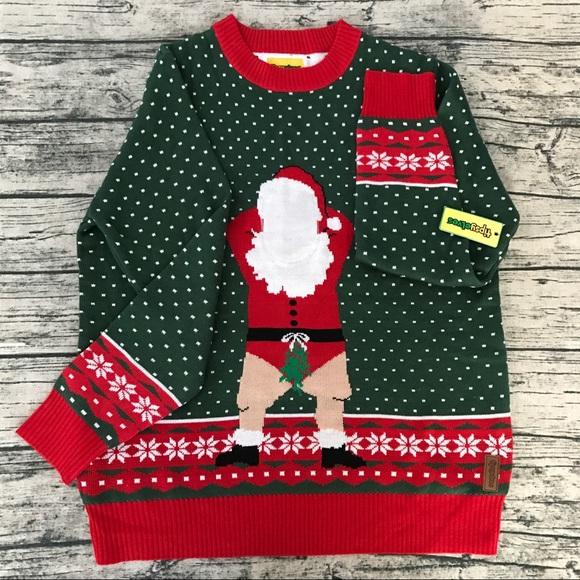 [Tipsy Elves] Naughty Santa Christmas Sweater NWT
