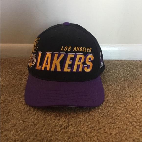 c5dd095b8c111c NBA Accessories | Vintage Snapback Los Angeles Lakers Hat | Poshmark