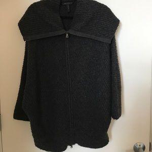 Bcbg Maxazria Espen charcoal sweater