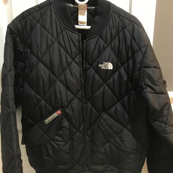 North Face Jackets Coats Diamond Quilted Jacket Poshmark