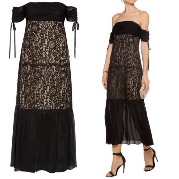 Rachel Zoe Dresses   Arlene Off The Shoulder Lace Gown Dress   Poshmark