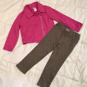 Girls 4t Circo pants/jacket set