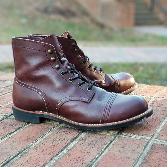 81d471be4ab Red Wing Heritage, Iron Ranger. Style #8119