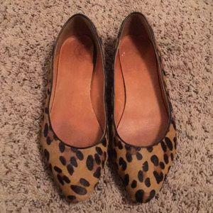 ✨ Madewell Leopard Sidewalk Flats ✨